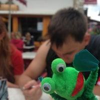 Photo taken at Cafe Folliet by Evgeniya on 8/20/2013