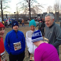 Photo taken at hot chocolate run by Darrell L. on 2/14/2015