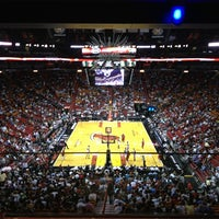Photo taken at American Airlines Arena by Ro on 2/13/2013