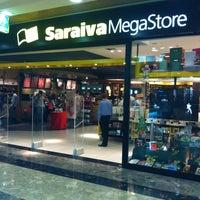 Photo taken at Saraiva MegaStore by Rosa on 12/18/2012