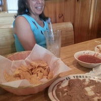 Photo taken at El Torero Mexican Restaurant by Olga on 7/5/2014