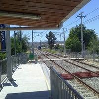 Photo taken at Metro Valparaíso - Estación Sargento Aldea by Javier B. on 1/7/2013