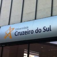 Photo taken at Universidade Cruzeiro do Sul - Campus Liberdade by Nalfranio S. on 2/24/2013