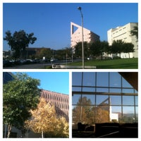 Photo taken at University Library - Cal Poly Pomona by Luigi on 11/19/2012