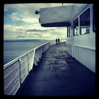 Photo taken at Black Ball Victoria Ferry by Andrew C. on 5/28/2013