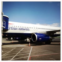 Photo taken at Glasgow Airport (GLA) by Gregory M. on 6/2/2013