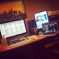 Photo taken at The Houst Dark Hi Def Studio by Houst D. on 3/16/2014