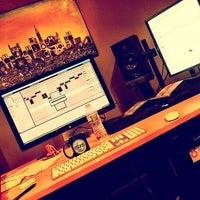 Photo taken at The Houst Dark Hi Def Studio by Houst D. on 5/9/2014
