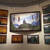 Photo taken at Nicholas Roerich Museum by Ari on 3/24/2016