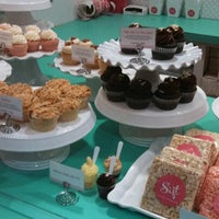 Photo taken at Sift Cupcake & Dessert Bar by iheart m. on 1/27/2013