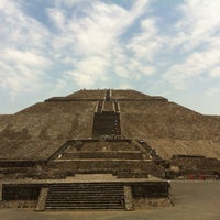 Photo taken at Zona Arqueológica de Teotihuacán by ro q. on 4/16/2013