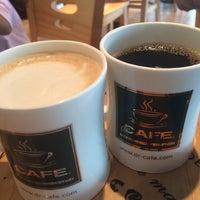 Photo taken at dr.CAFÉ Coffee by Della M. on 2/6/2014