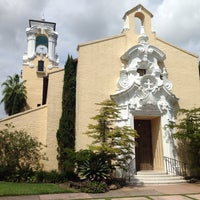 Photo taken at Coral Gables Congregational Church by Camila F. on 10/3/2013