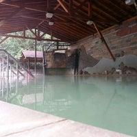Photo taken at LuShan Hot Springs by Tomas J. on 3/13/2014