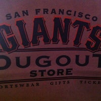 Photo taken at Giants Dugout Store by Mauricio C. on 5/22/2013