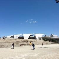 Photo taken at Komazawa Olympic Park by ymkx on 4/7/2013