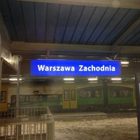 Photo taken at Warsaw West Railway Station by Marco on 2/22/2013