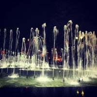 Снимок сделан в Градинката пред Народен театър пользователем AYA 4/23/2013
