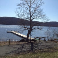 Photo taken at Rockland Lake State Park by Sabrina R. on 4/6/2013
