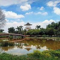 Photo taken at taman purbakala sriwijaya by Wisda K. on 11/16/2016