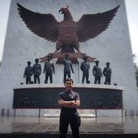 Photo taken at Monumen Pancasila Sakti by Wisda K. on 4/18/2017