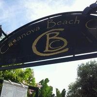 Photo taken at Casanovas Beach Club by Keyser C. on 10/21/2012