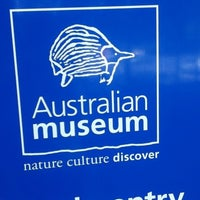 Photo taken at Australian Museum by Sarvesh on 11/12/2012