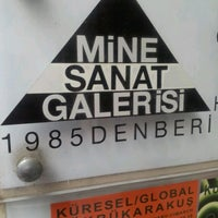 Photo taken at Mine Sanat Galerisi by Aydın T. on 2/20/2013