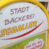 Photo taken at Stadtbäckerei Schaller by Michael H. on 9/26/2013