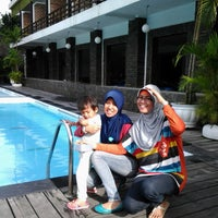 Photo taken at Mesra Hotel Swimming Pool by RULLY AKBAR on 12/27/2013