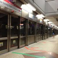 Photo taken at Dhoby Ghaut MRT Interchange (CC1/NE6/NS24) by Nataly & Nick on 6/18/2013