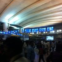 Photo taken at Rajiv Chowk | राजीव चौक Metro Station by Irisha H. on 3/25/2013