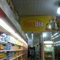 Photo taken at Bom Dia Supermercado by Cícero E. on 9/19/2012