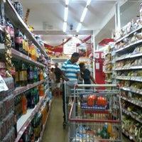 Photo taken at Bom Dia Supermercado by Cícero E. on 1/6/2013