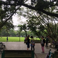 Photo taken at 榮星花園公園 Rongxing Garden Park by Cz P. on 5/31/2017