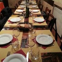 Photo taken at Trebbi Trattoria by Cristian C. on 12/7/2012