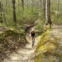 Photo taken at Wolf River Trails by Adam D. on 4/8/2013