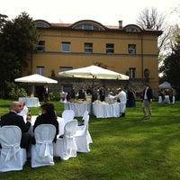 Photo taken at Villa Rocchetta by Daniele C. on 4/5/2014