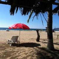 Photo taken at Playa Larga by ViriDiana on 1/4/2013