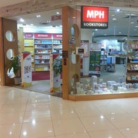 Photo taken at MPH Bookstore by Muhammad Iqbal A. on 3/29/2013