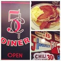 Photo taken at Nickel Diner by vonn b. on 9/28/2012