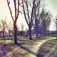 Photo taken at Parco Porporati by Carlo M. on 12/31/2014