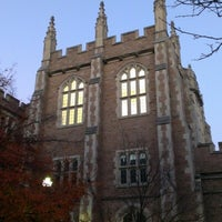 Photo taken at Washington University by Fan G. on 10/23/2012