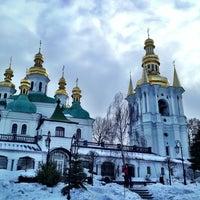 Photo taken at Kyiv Pechersk Lavra by Sergey M. on 1/9/2013