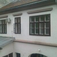Photo taken at Gradska biblioteka u Novom Sadu by Nick S. on 5/27/2013