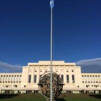 Снимок сделан в UNECE Geneva пользователем Jerome 10/9/2014