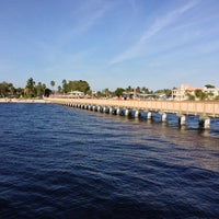 Photo taken at Cape Coral Beach at Yacht Club Community Park by Sergey Shch. on 12/31/2012