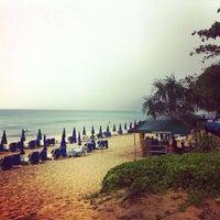 Photo taken at Karon Beach by Victor K. on 10/21/2012