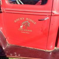 Photo taken at Rocky Ridge Orchard by Jonathan on 9/24/2014