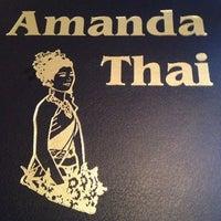 Photo taken at Amanda Thai by Jonathan on 7/26/2013